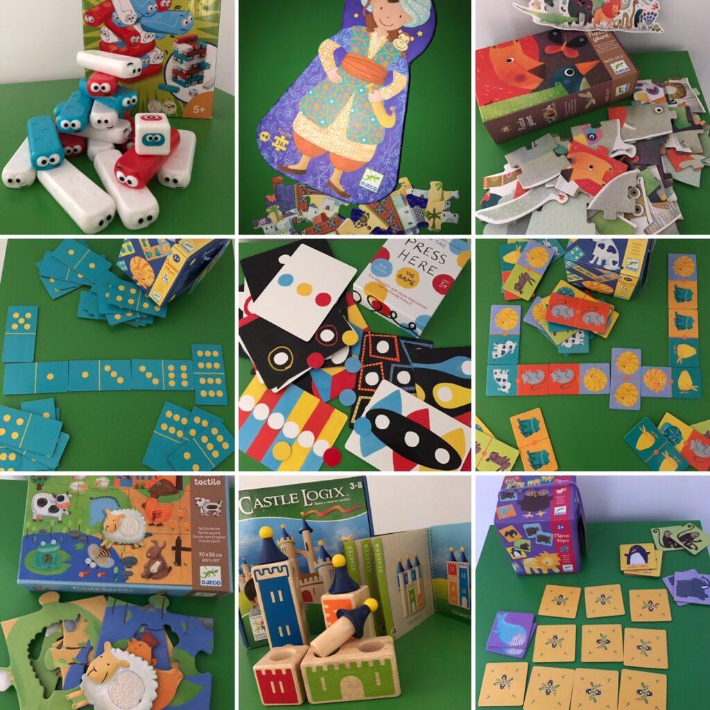 Los mejores juegos de mesa para niños de cuatro o cinco años